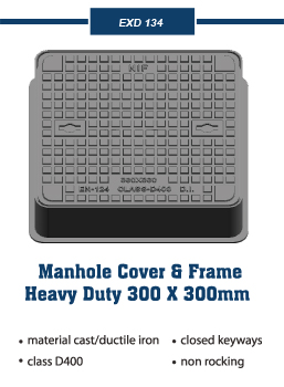 Manhole Covers and frames heavy duty