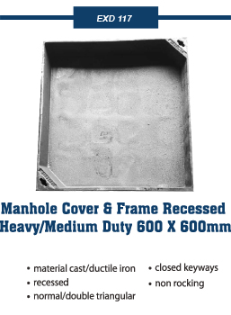 recessed heavy covers