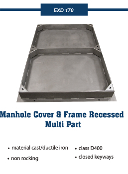 recessed multipart covers